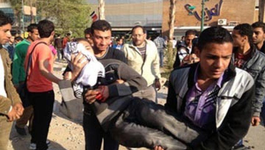 مستشفى رابعة: اشتباكات الأمس تمت بذخيرة ميري