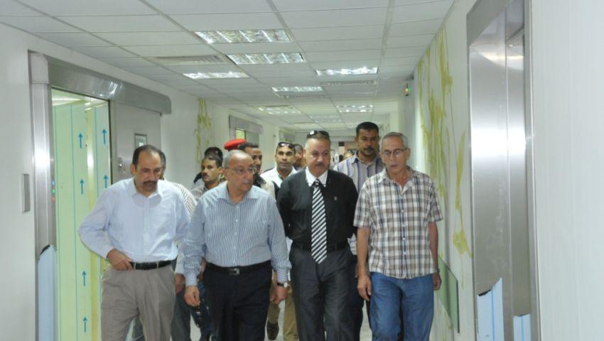 بالصور| رئيس جامعة أسوان: إنشاء مستشفي بتكلفة 4 ملايين جنيه