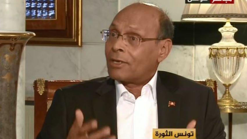 فيديو..المرزوقي للنظام المصري: لا تدخلوا فى معركة مع الصحفيين