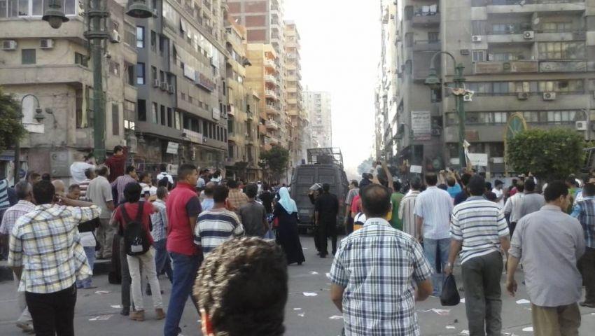 اشتباكات بين مؤيدين ومعارضين لمرسي بسيدي جابر
