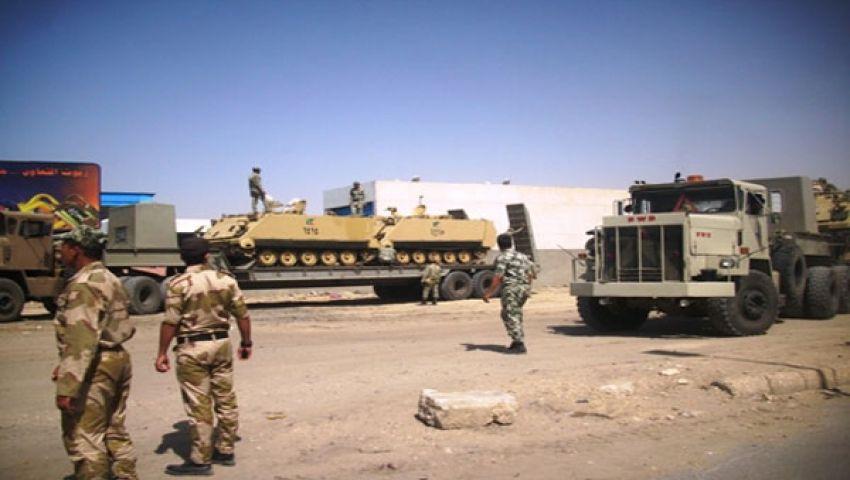 إصابة 3 جنود في هجوم على حافلة للشرطة بسيناء