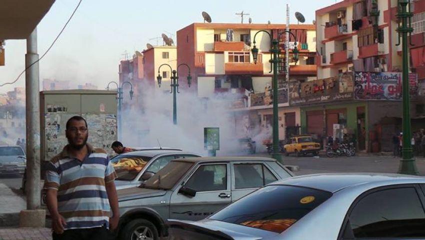 الأمن يطارد أنصار مرسي بالذخيرة الحية