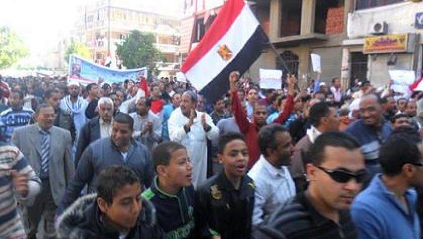 القوى السياسية بقنا تتفق على خريطة المظاهرات