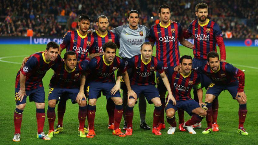 تشكيل برشلونة  لمباراة افتتاح الدوري أمام إلتش