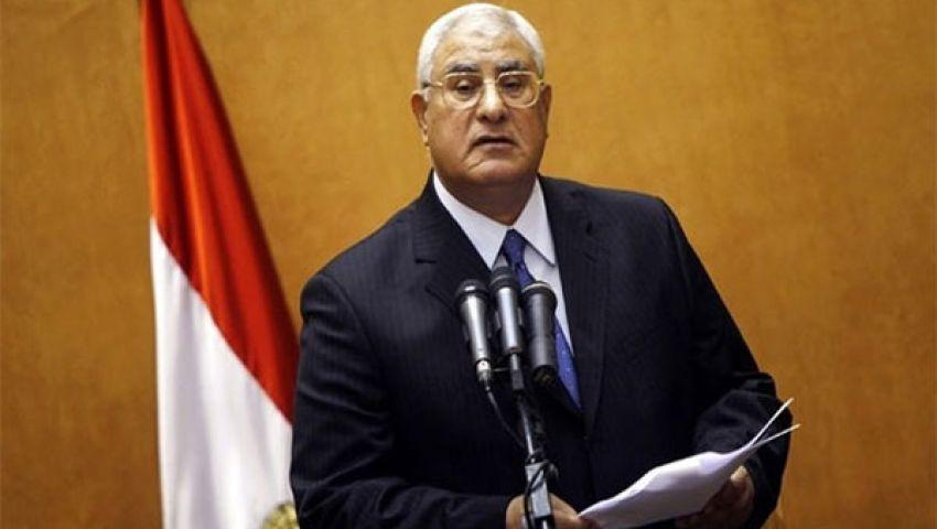 الرئيس المؤقت يلتقي نائب رئيس وزراء البحرين
