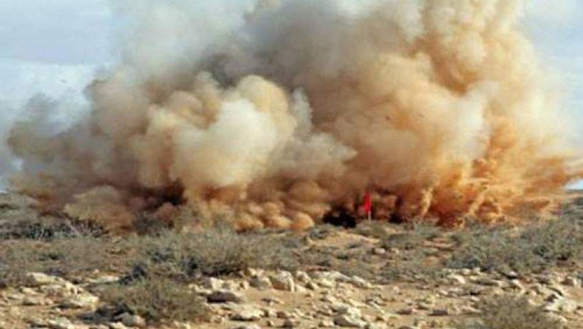 إصابة جنديين في تفجير استهدف سيارة إطفاء شمال سيناء