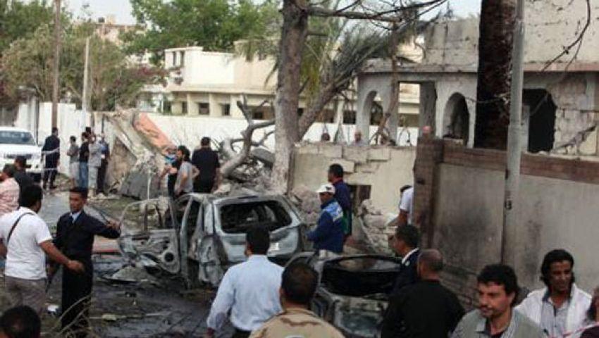 انفجار في العاصمة الليبية قرب سفارات