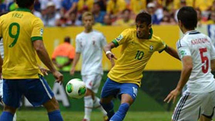 البرازيل يتطلع للعبور لنصف نهائي القارات أمام المكسيك