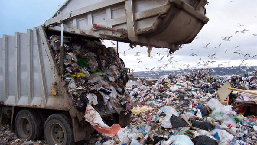 30 نقلة يوميًّا لرفع القمامة بالجيزة