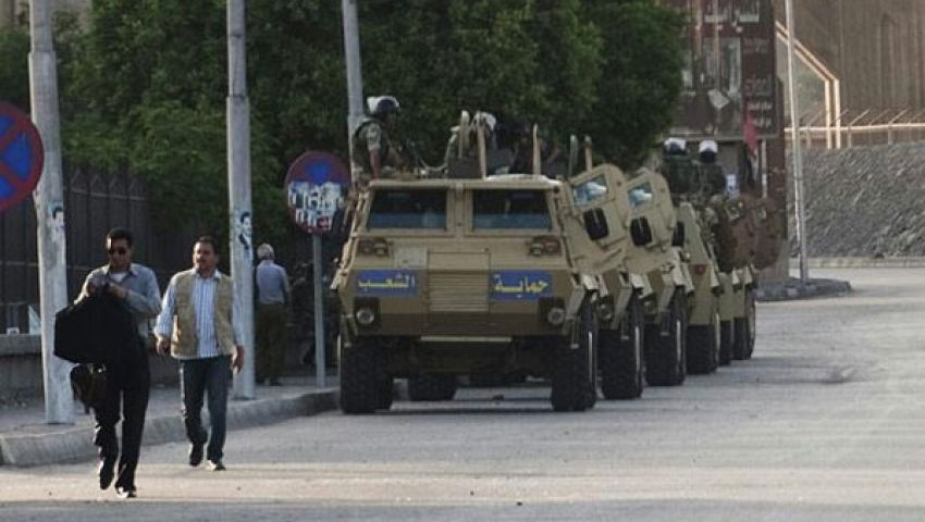 تواصل التوتر الأمني بشمال سيناء