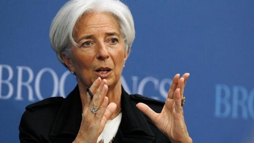 لاجارد: صندوق النقد سيشارك في مؤتمر تعزيز فرص الاستثمار بمصر