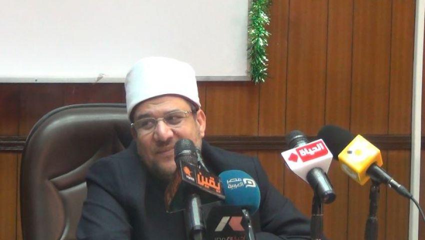 وزير الأوقاف يكشف تفاصيل الاعتداء على منزله