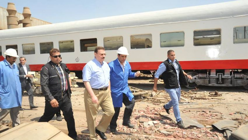 اجتماع  وزراء النقل والمالية والتخطيط لحل أزمة تمويل السكك الحديدية