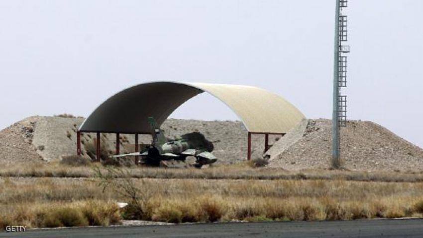 عاصفة الحزم تدمر 8 مقاتلات بقاعدة الدليمي