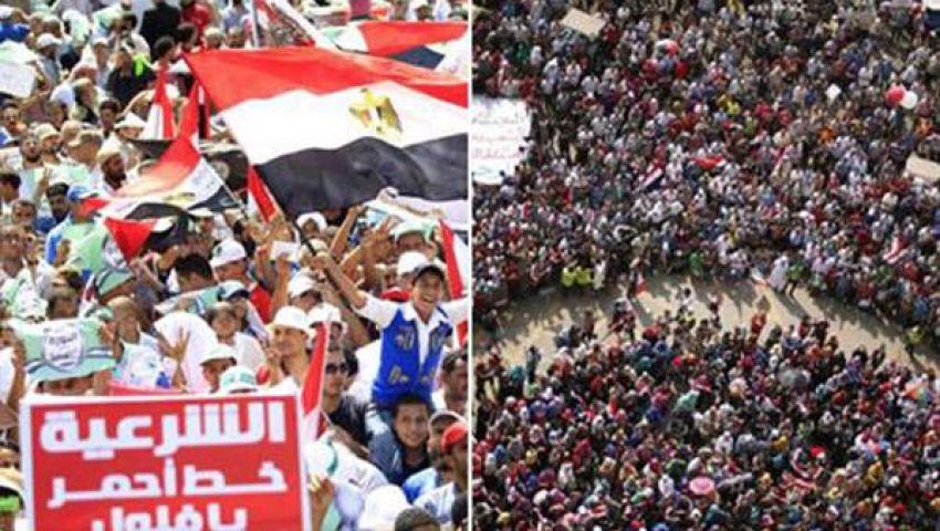 مصريون صبيحة بيان الجيش..عين فرحة وعين خائفة