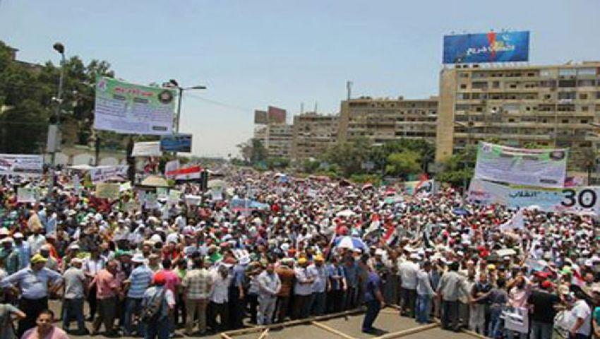 انطلاق مسيرة للإخوان من الفتح لـ رابعة العدوية