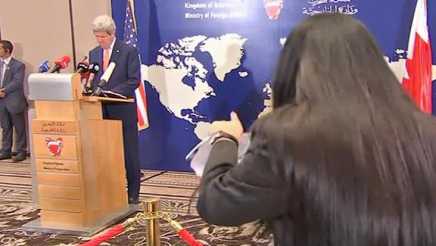 فيديو.. صحفية بحرينية لـكيري: التصرفات دي تعملوها في بلدكم