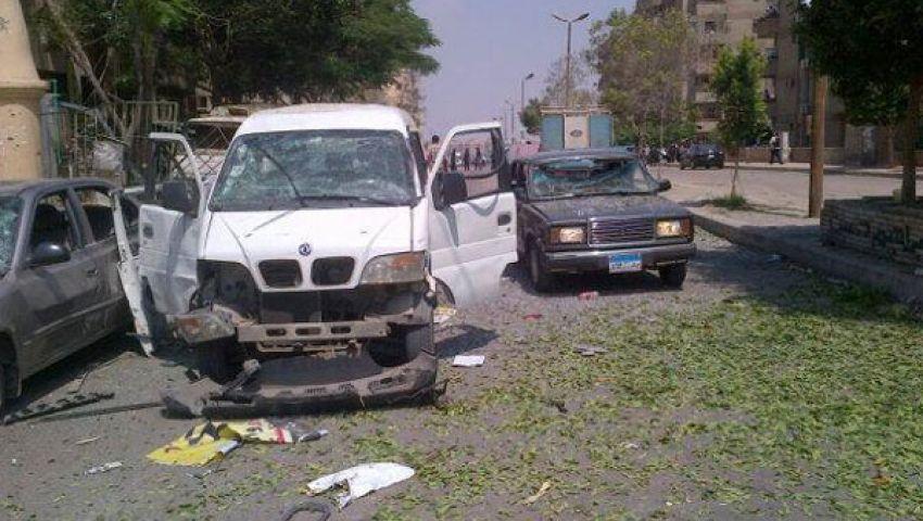 إصابة 7 في انفجار استهدف موكب وزير الداخلية
