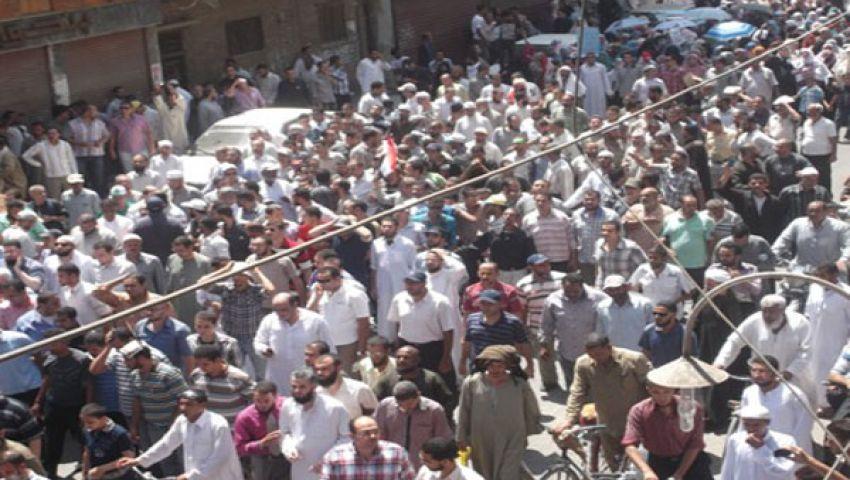 مسيرات لتيارات إسلامية بأسيوط لدعم مرسي