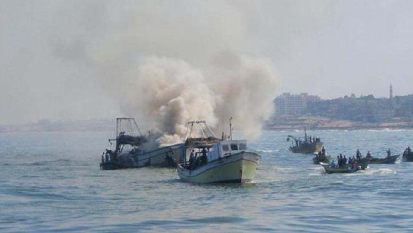 البحرية الإسرائيلية تستهدف صيادين قبالة بحر غزة