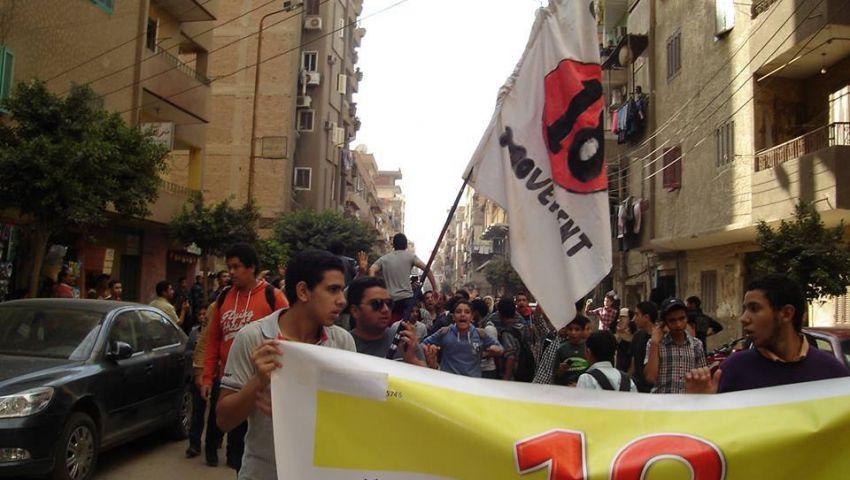 شباب 18 تتظاهر في الغربية والإسكندرية