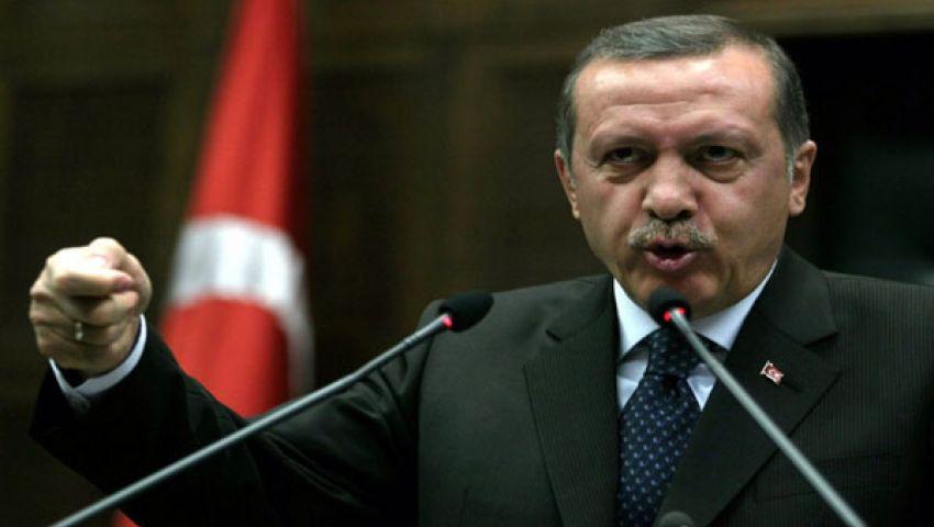 أردوغان: مرسي رئيس مصر الشرعي بالنسبة إلي