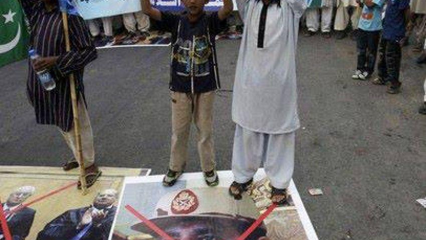 مظاهرات مؤيدة لمرسي في مدن باكستانية