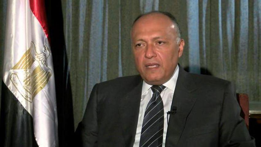 فيديو..شكري: لن يهدأ بالنا إلا بإقامة الدولة الفلسطينية