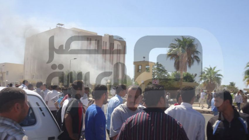 بيت المقدس تبث فيديو لتفجير مديرية جنوب سيناء