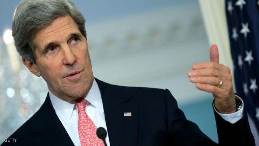 كيري: ندرس خيارات تدمير كيماوي سوريا