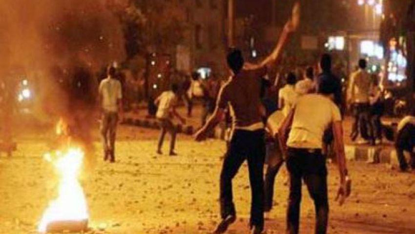 حرق منزلين لأعضاء الإخوان في بشبيش