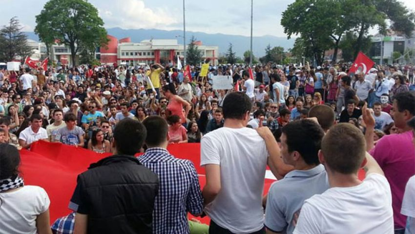 مقتل تركي في احتجاجات هطاي
