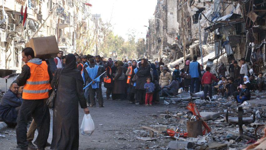 145 ألف فلسطيني فروا من سوريا بسبب الحرب
