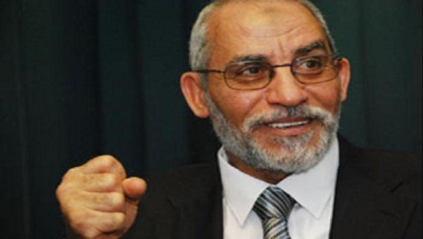 النيابة تأمر بضبط مرشد الإخوان ووزيرين سابقين بتهمة تكدير الأمن