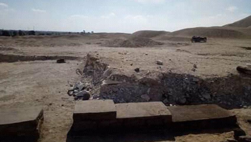 بعد مقبرة حفيد الملك خوفو.. اكتشاف قرابين بجوار الهرم «ميديوم»