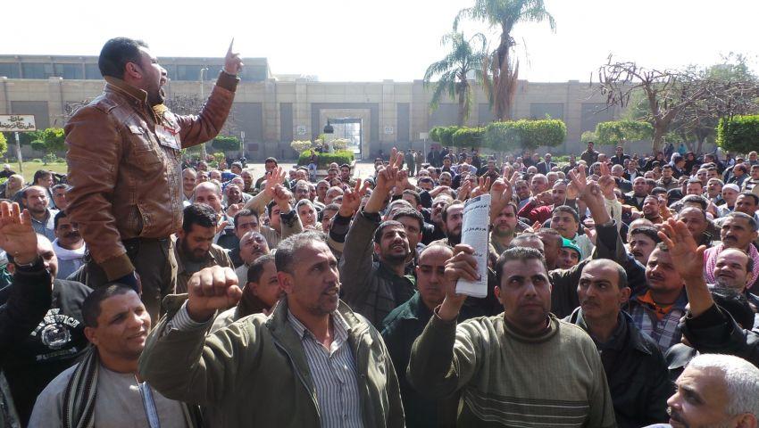 مؤشر الديمقراطية: 1117 احتجاجا عماليا.. والدولة تواجه بلجان مقاومة