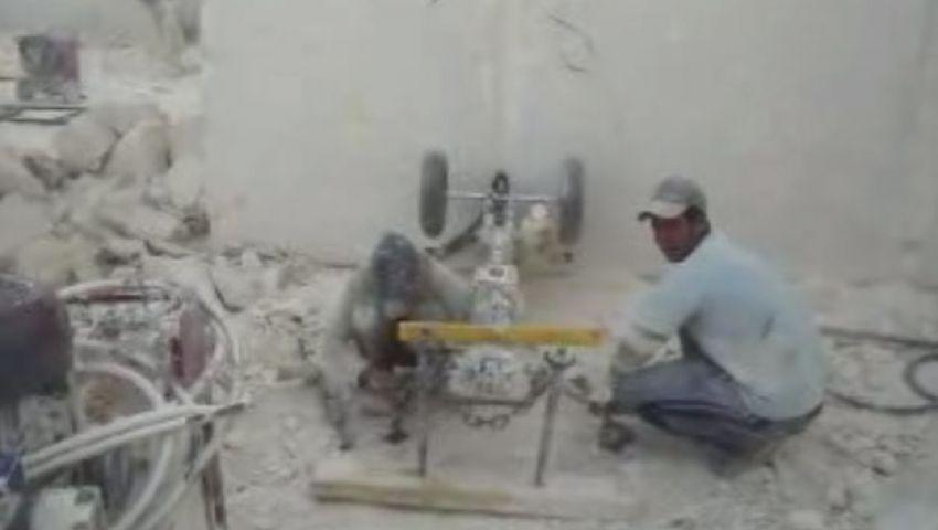 بالفيديو..عمال المحاجر..  حياة مأساوية في باطن الجبل