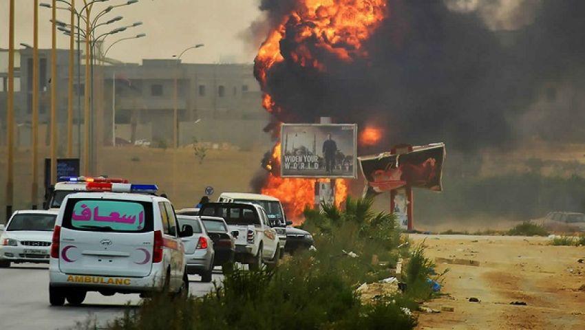 قصف جوي يستهدف السفارة الأوكرانية في طرابلس الليبية