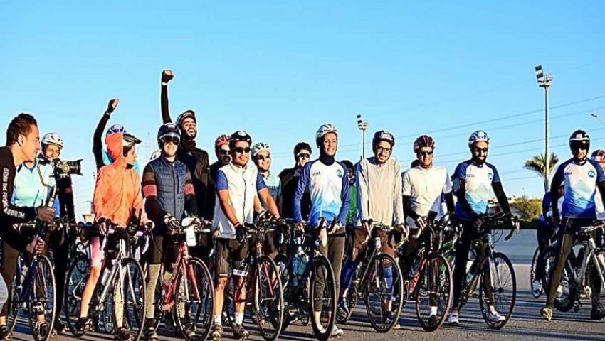 صور| تدشين «تحدي الجلالة 4» لسباق الدراجات الهوائية.. الجمعة المقبل
