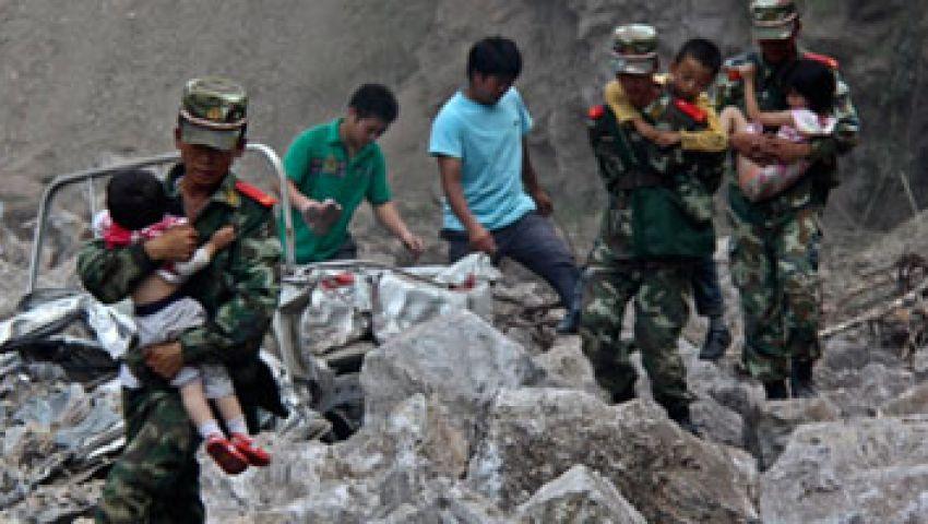 ارتفاع عدد ضحايا زلزال قانسو إلى 80 شخصا
