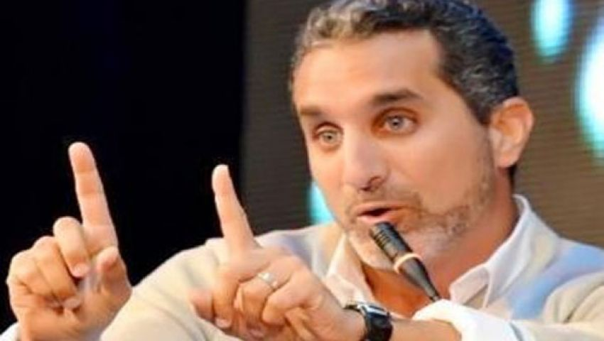 باسم يوسف: لا علاقة لـرسالة بمعتصمي الإخوان
