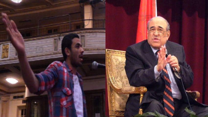 فيديو| مصطفى الفقي لـ طالب: بالفعل الدولة لا تؤمن بالرأي الآخر