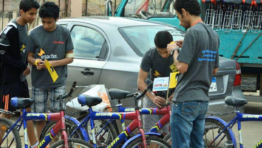 حملة شبابية لمواجهة التحرش الجنسي بـ الدراجات