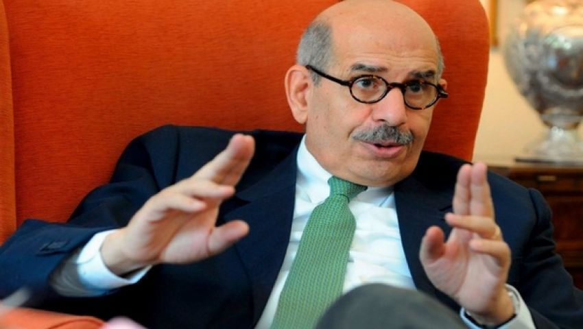 البرادعي: التقيت مرسي.. ويئست منه