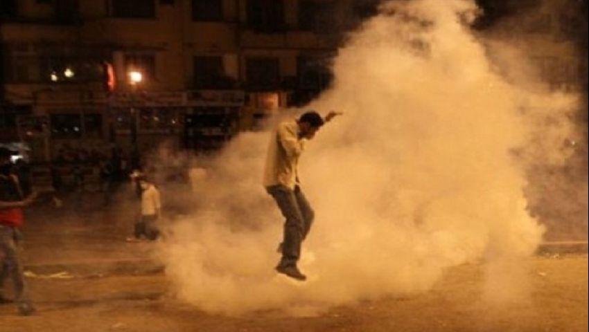 أمن الجيزة يقتحم كرداسة لتفريق مسيرة معارضين