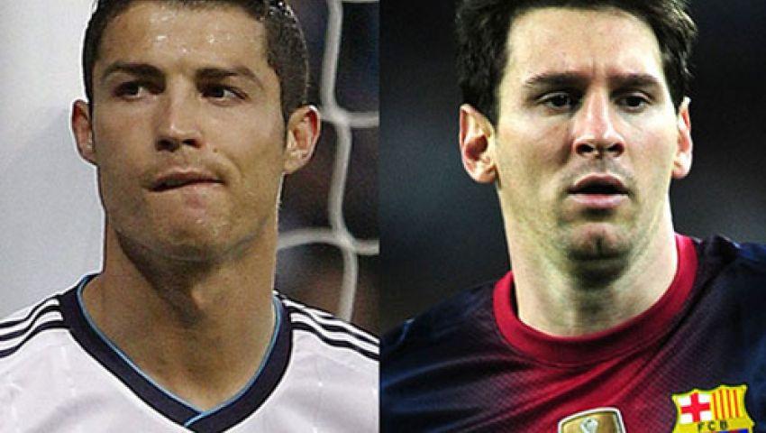 رونالدو وميسي خارج تشكيل الأفضل فى دوري الأبطال