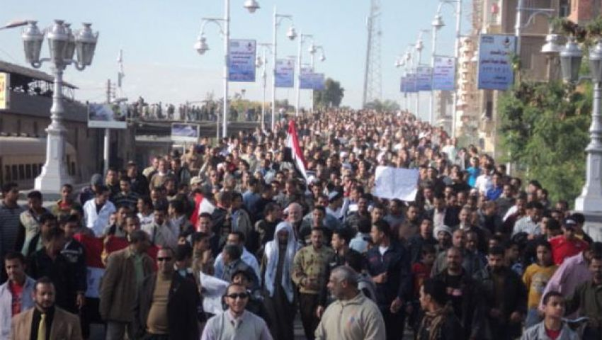 مؤيدو مرسى يعتصمون بميدان بلاس