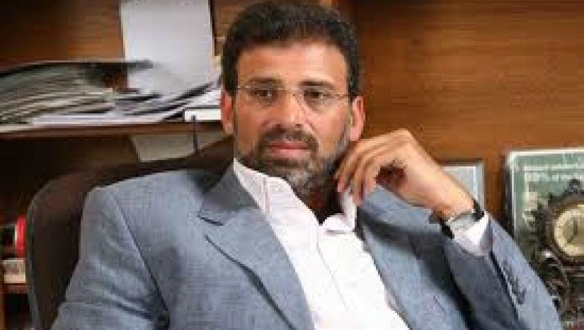 خالد يوسف: الدستور لا يصلح دون موافقة 75%