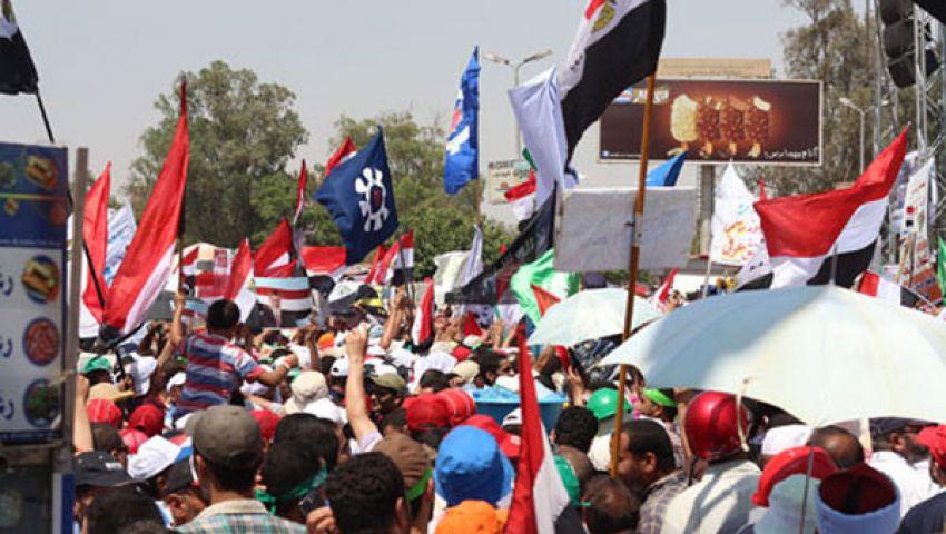 معتصمو رابعة: خطاب السيسى دليل على ضعفه