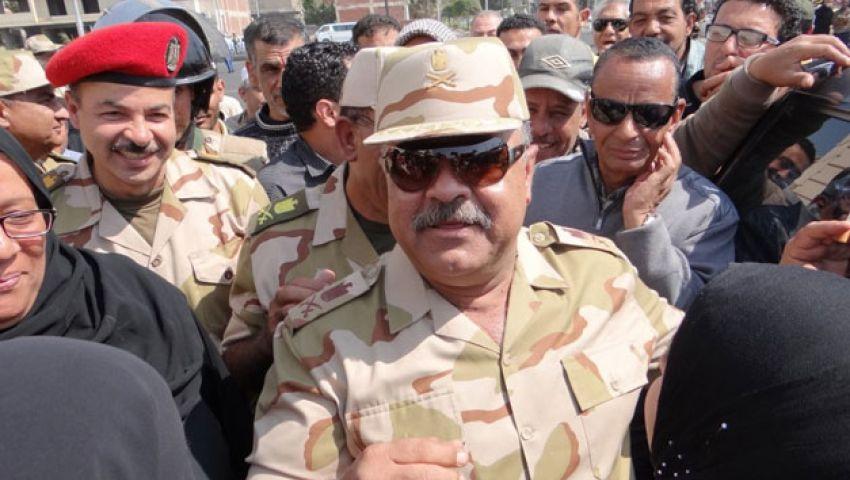فيديو.. قائد الجيش الثاني يتفقد لجان الاستفتاء بالشرقية